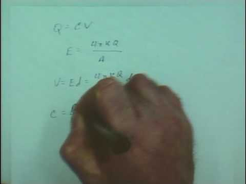 PHYSICS 220 - SP 2010 - Lecture 6 - Capacitance, Dielectrics, Series & Parallel