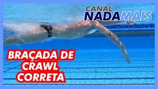A MELHOR TÉCNICA DA BRAÇADA DE CRAWL | CANAL NADA MAIS