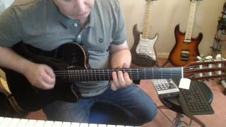 Godin Multiac ACS Black Pearl - First Play
