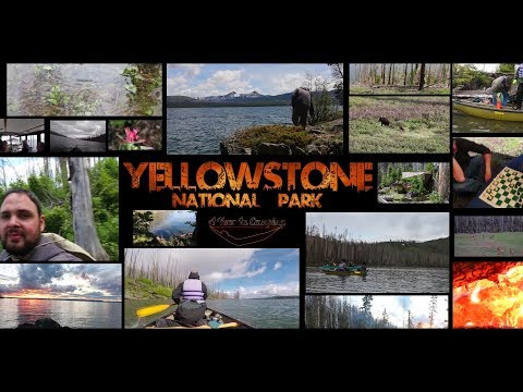 Yellowstone National Park - WY -June 2017 - Kayak Trip