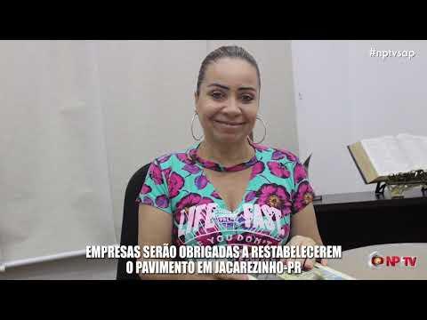 Empresas serão obrigadas a restabelecerem o Pavimento em Jacarezinho-PR