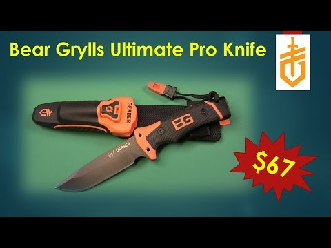 Gerber Bear Grylls Ultimate Pro Fixed Blade Knife