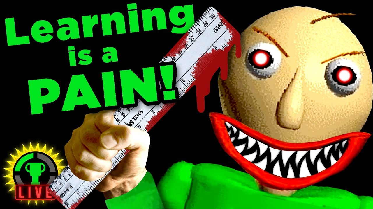 MY TEACHER IS CRAZY!!   Baldi's Basics in Education and Learning (Part 1)