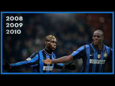 Mario Balotelli Adolescente - Inter 2008, 2009 & 2010
