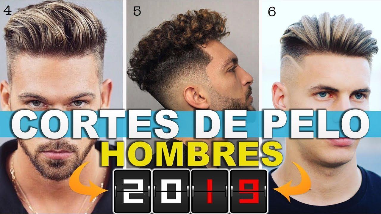 Cortes De Pelo Y Peinados Para Hombre 2019 Las Mejores Tendencias