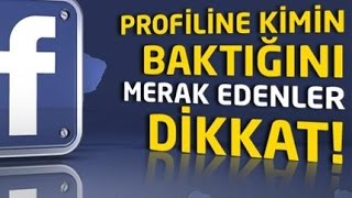 Facebook Profilime Kim Bakmış ? Uygulama incelemesi