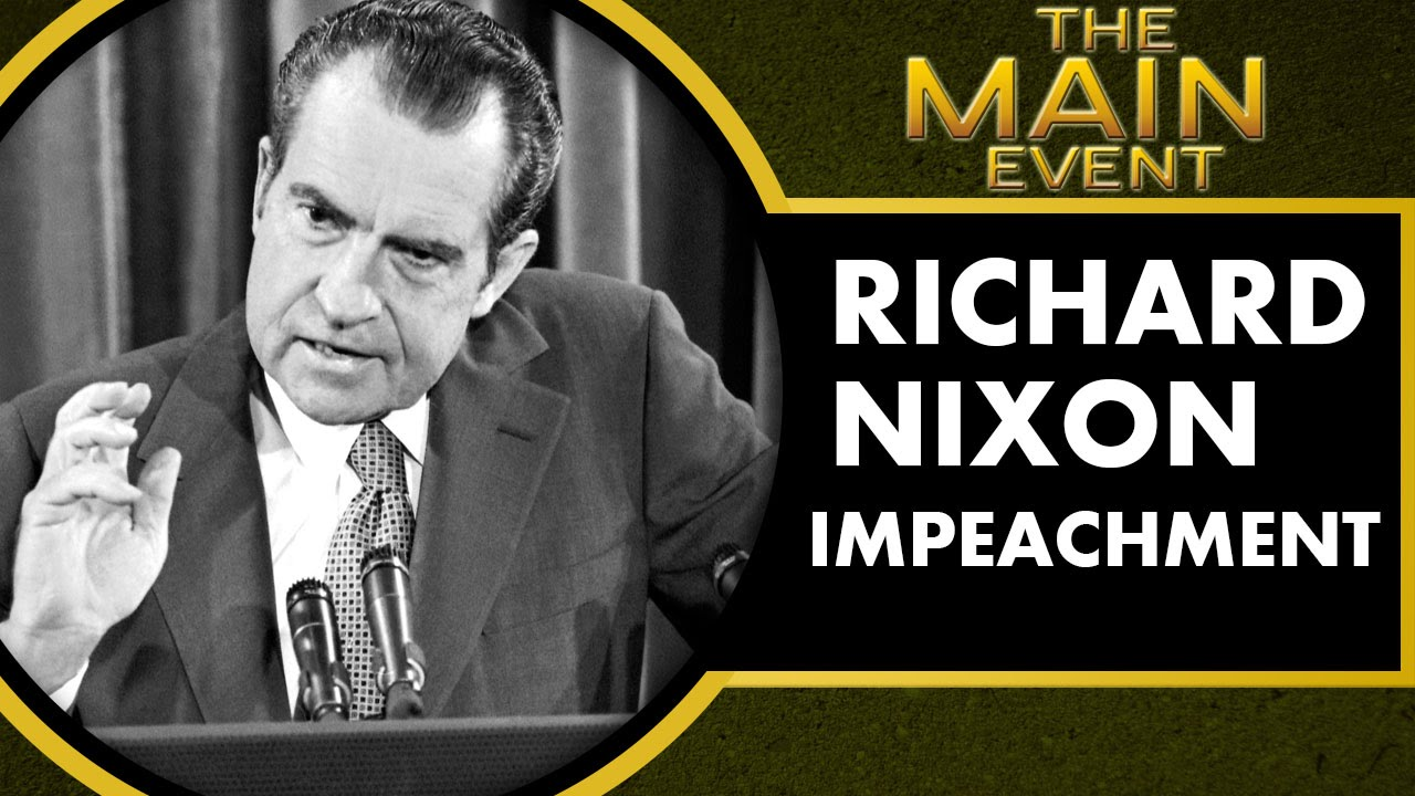 Was nixon impeached?