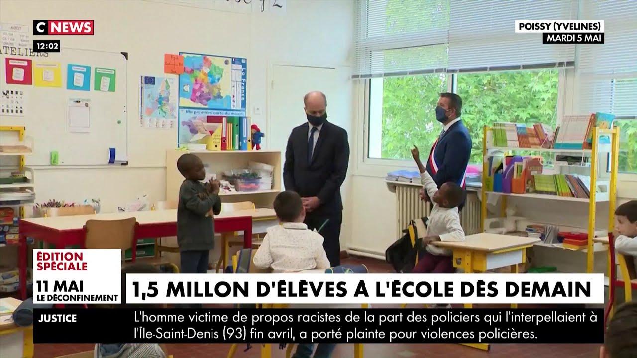 Déconfinement : Jean-Michel Blanquer estime que 86% des écoles seront ouvertes dès le 12 mai