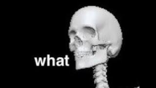 spooky scary skeletons but  l o u d