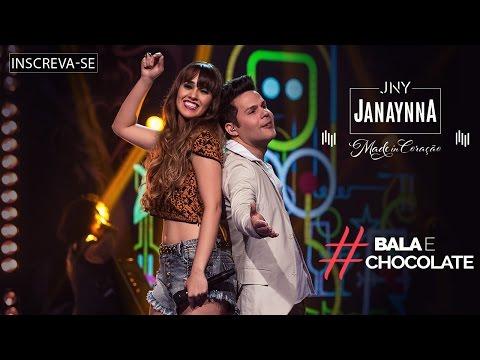 Janaynna - Bala e chocolate (Part. Éder Brandão) - (DVD Made in Coração) [Vídeo Oficial]