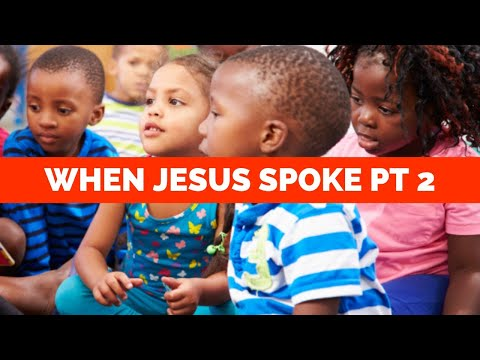 When Jesus Spoke PT 2 - Israelite Nation World Wide Ministries Live