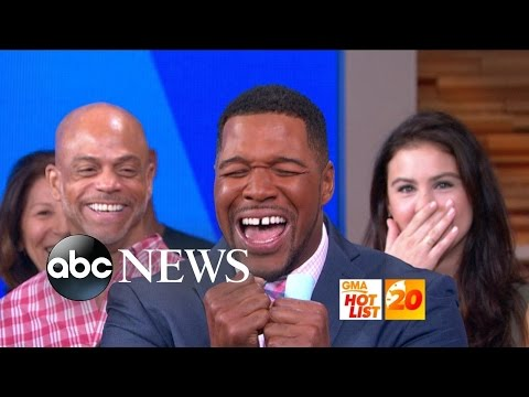 'GMA' Hot List: Michael Strahan's First Day Full-Time