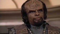 """I Am Worf Commanding the Enterprise."" Worf"