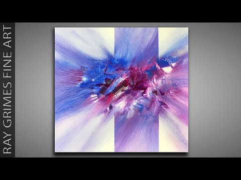 Simple Painting / 159 / Relaxing / For Beginners / Abstract Art / Painting Techniques