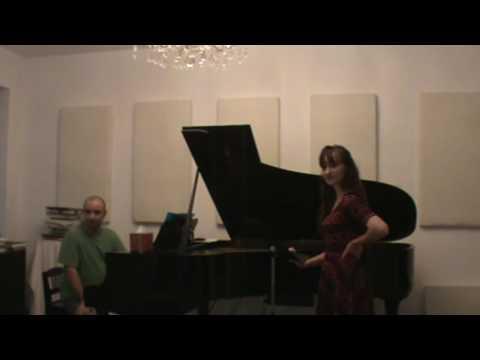Voix NY Series 001  Masterclass with Mikhail Hallak- Soprano Allison Sweiderk