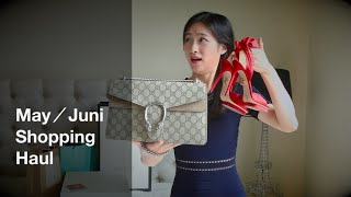 Shopping Haul Unboxing | 五六月购物分享 | Beauty | Gucci | Charlotte Olympia