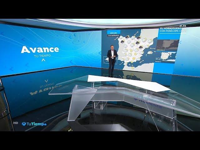 Antena 3 Tu Tiempo Con Roberto Brasero Nueva Imagen 3 9 2018 Youtube