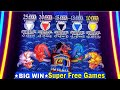 5 Dragons Slot Machine Bonus ★BIG WIN★ Max Bet ★SUPER FREE GAMES WON★ | Live Aristocrat Slot Play