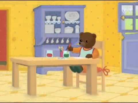 Petit ours brun peint partout youtube - Petit ours brun a l ecole ...