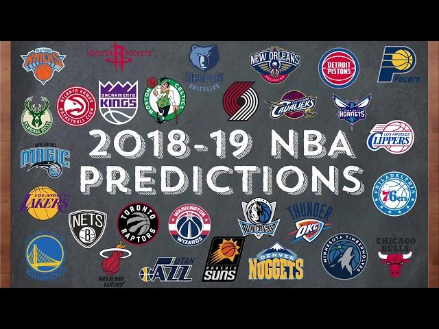 2018-19 NBA Predictions/Analysis