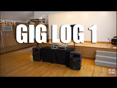 DJ Gig Log 1| Djing A Wedding