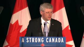 Prime Minister of Canada at Ahmadiyya Fund Raising Dinner of Humanity First