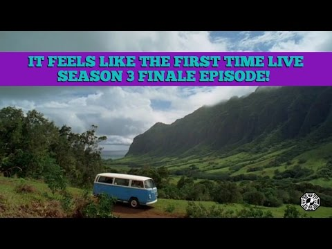 It Feels Like The First Time Podcast - LOST Season 3 Finale LIVE STREAM!