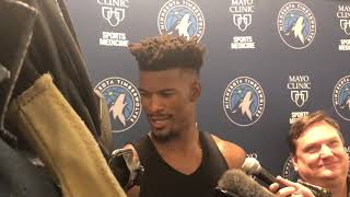 10/14/18: Butler on returning to practice, trade demands