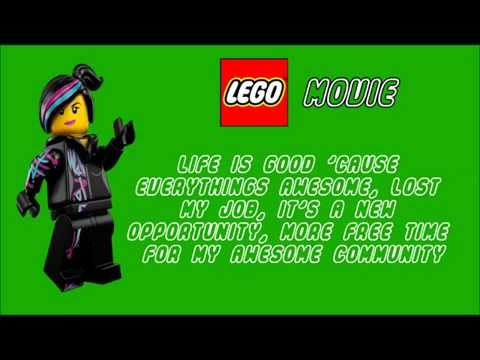 Tegan And Sara ft Lonely Island - Everything Is Awesome Lyrics {HD}