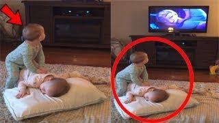 ظنت الأم أن أطفالها يشاهدون أفلام ديزني ..