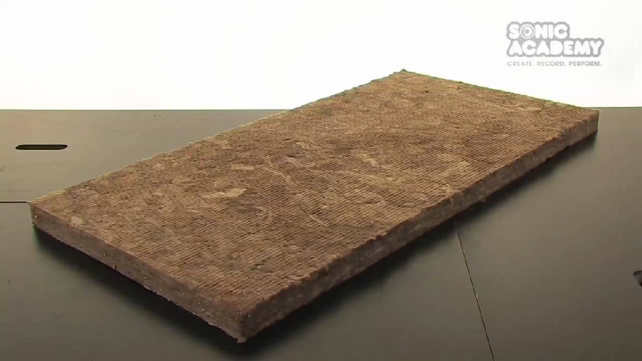 How To Make A Rockwool Sound Absorber / Acoustic Panels - Part 1 Materials - YouTube