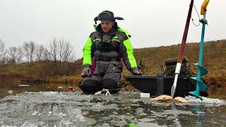 Рыбалка по последнему льду 2021 Охочусь за рыбой с подводной камерой