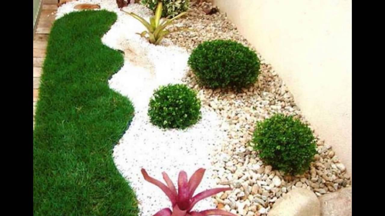 pebble design for courtyard - YouTube