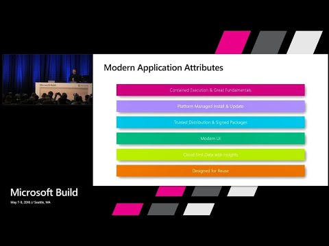 Modernizing Desktop Apps on Windows 10 with .NET Core 3.0 and much more : Build 2018