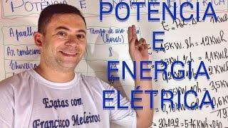 ENEM - Potência e Cálculo de Energia Elétrica - Exercícios Resolvidos - Física