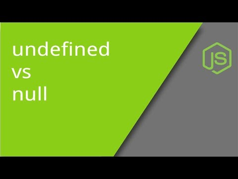 JavaScript null vs. undefined