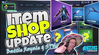💥MenamesCho's LIVE 🔵 NEW INFINITY 🌀 ITEM SHOP UPDATE - Fortnite Battle Royale - 24th August 2019