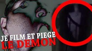 JE FILM ET PIÈGE LE DÉMON ! 😱😈📹 (Chasseur de Fantômes) [Exploration Nocturne] Urbex Hanté Paranormal