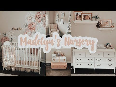 MADELYN'S NURSERY TOUR!!!!