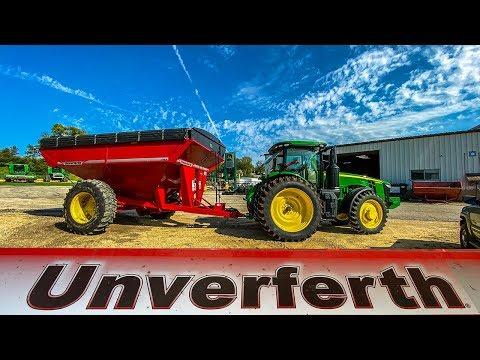 The Ideal Grain Cart Setup   Wedge Kit Install