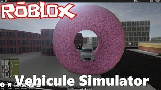 ROBLOX - Driving With A Car An Airplane or A Boat - Vehicle Simulator