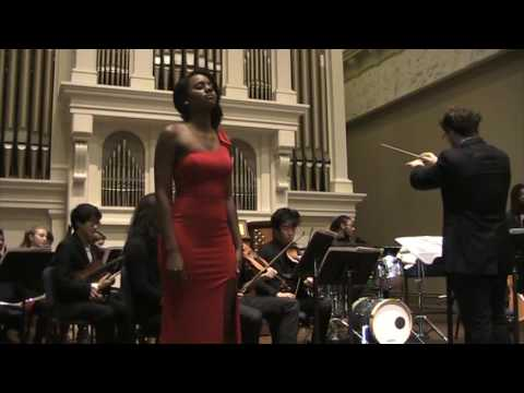Simone Brown, Peabody Conservatory Graduate Recital, Take My Mother Home