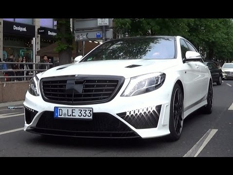 2016 Mercedes-Benz S63 AMG tuned by German Special Customs (GSC)! - YouTube