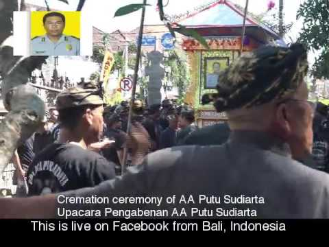 Cremation Ceremony of AA Putu Sudiarta in Bali #1