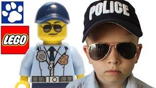 ЛЕГО МУЛЬТИК | Агент Леговский становится бандитом | LEGO полиция | Матвей Котофей
