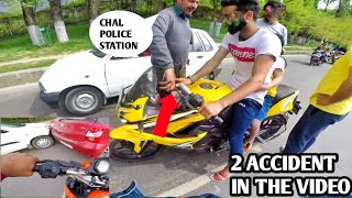PULSAR RS 200  HIT A CAR |ROYAL ENFIELD 500 WANTS TO RACE WITH DUKE 200 |ALTO DASHED INTO ITOIS