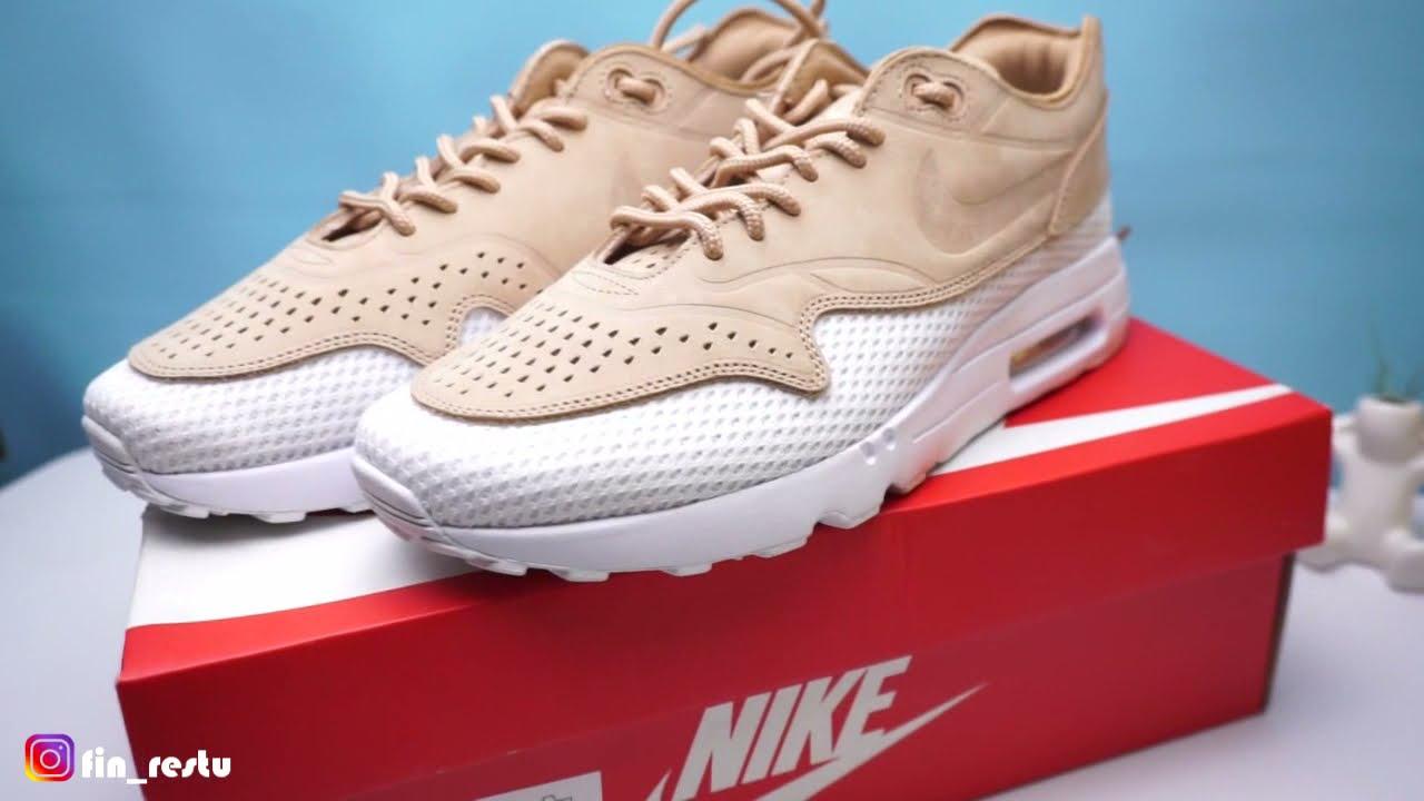 UNBOXING Sepatu NIKE Air Max 1 Ultra 2.0 Premium BR - YouTube