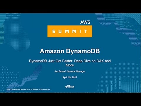 NEW LAUNCH! DynamoDB Just Got Faster: Deep Dive on DAX and More