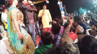 सुपर स्टार पवन सिंह और बेकाबू भीड़ PAWAN SINGH Stage Show IN PAWAN SINGH Marriage