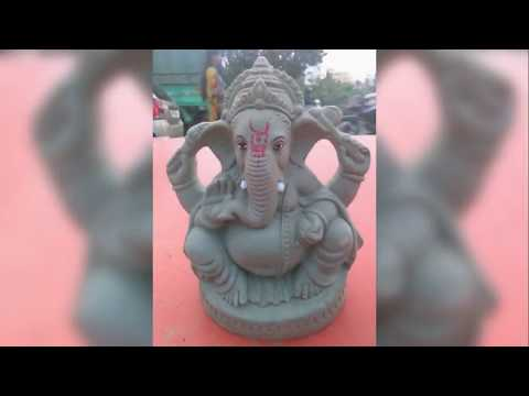 Make Eco Friendly Ganesh & Mud Idols with Moulds - Contact +